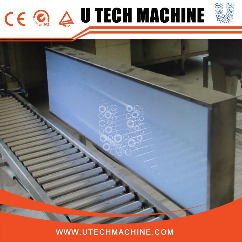 Barrel checking machine, light inspection machine