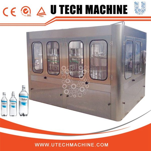 24000BPH bottle filling machine for mineral water