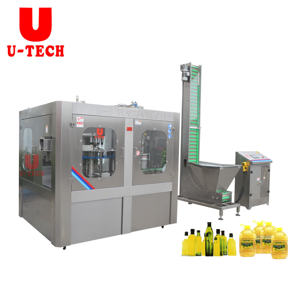 5000BPH Automatic Cooking Oil Filling Machine